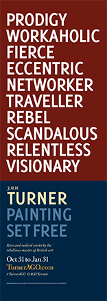Art Gallery of Ontario - Turner - Relentless Visionary