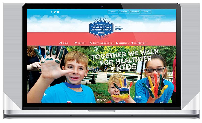 Sick Kids - Website