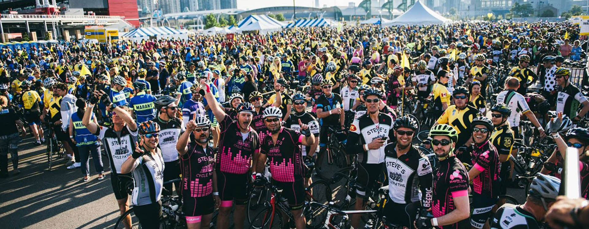 Steve's Cycle Paths and The Ride to Conquer Cancer benefiting The Princess Margaret Cancer Foundation