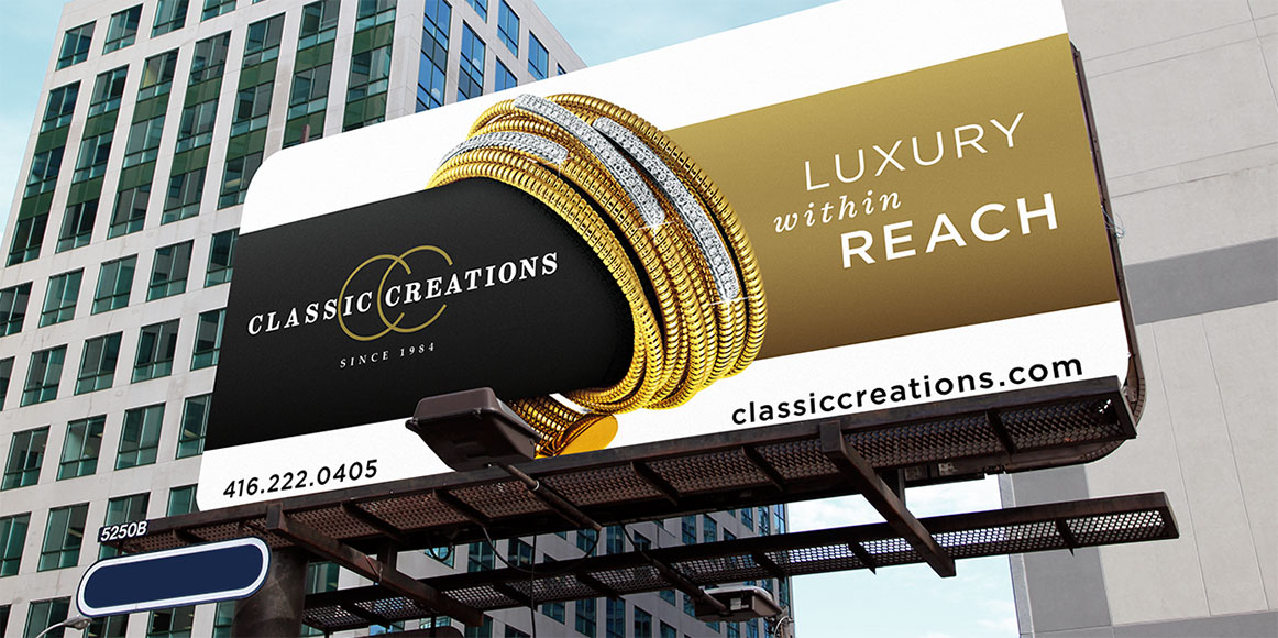 Classic Creations Billboard ad